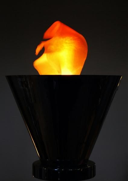 lume corpo luminoso lampada fiamma arancione