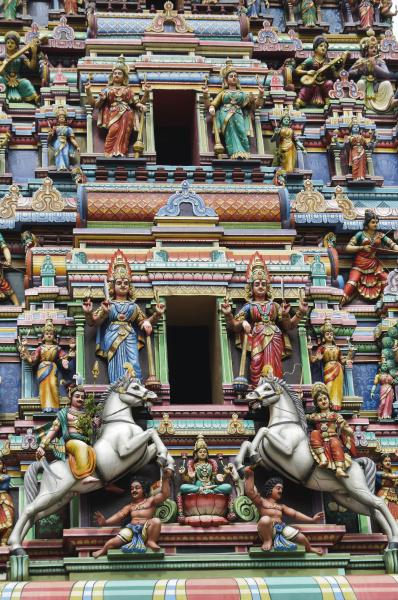figure del tempio indu
