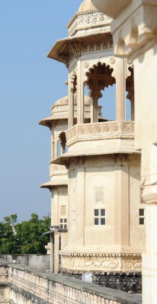 casa costruzione citta india stile di