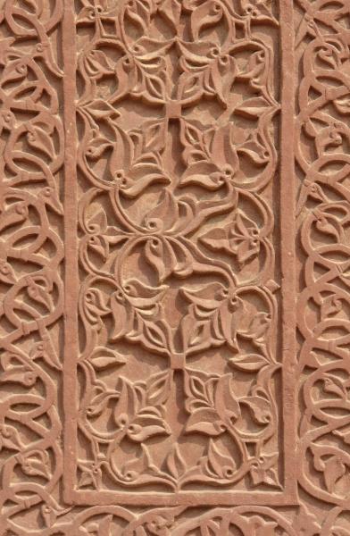 india stile di costruzione architettura pilastro