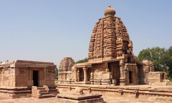 storico tempio india stile di costruzione