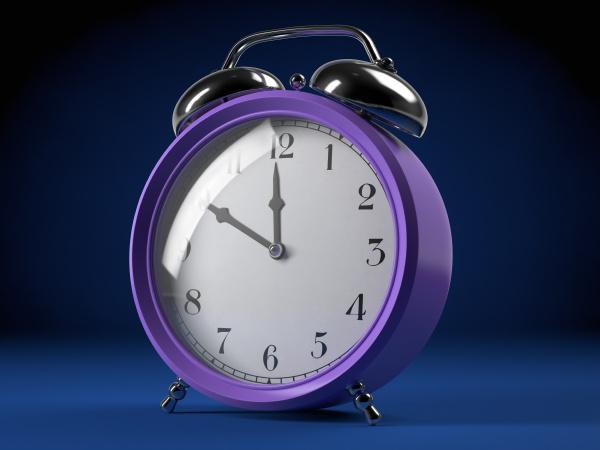 orologio data mattutino sveglia domani