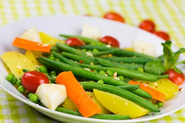 vitamina verde fagioli verdura dieta carota