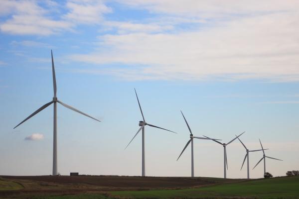 blu ambiente moderno nuvola campo potenza