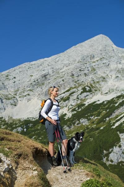 escursione con il cane