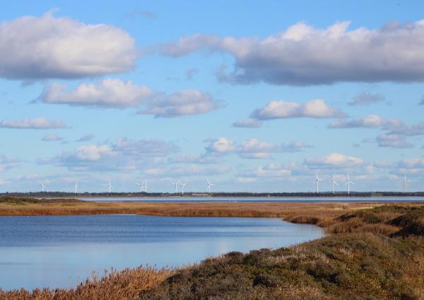 blu ambiente orizzonte nuvola campo potenza
