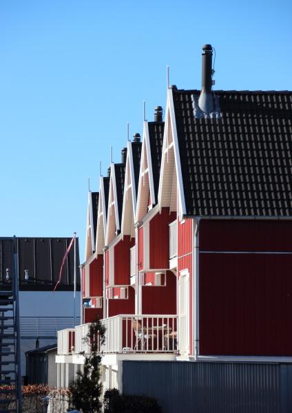 blu estate guardare osservare balcone casa