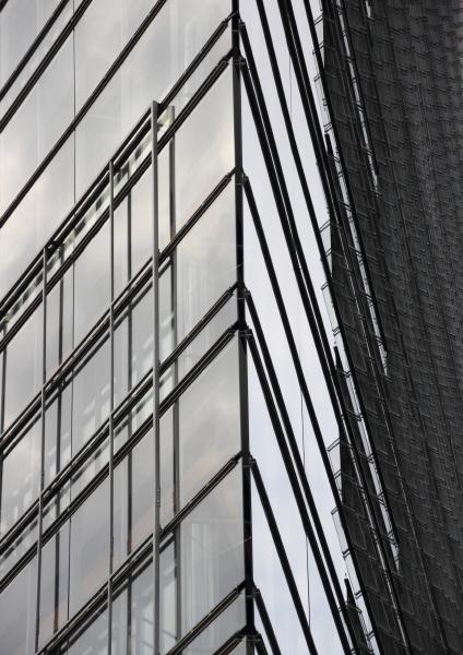 citta moderno muro fuori facciata sguardo