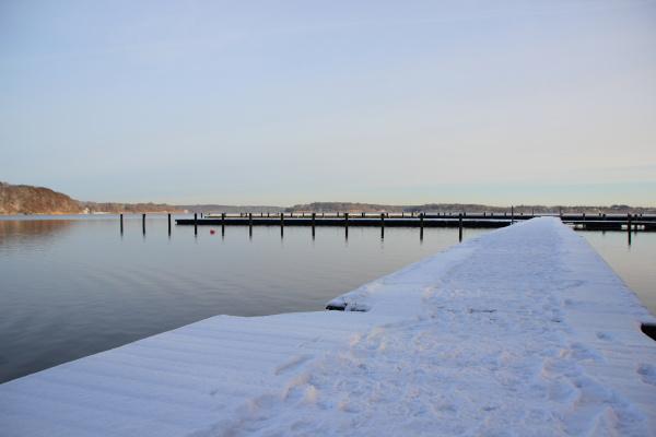 bello bella inverno nevoso gelo allaperto