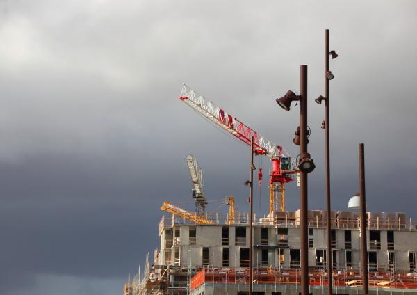 costruzione allaperto fuori stile di costruzione