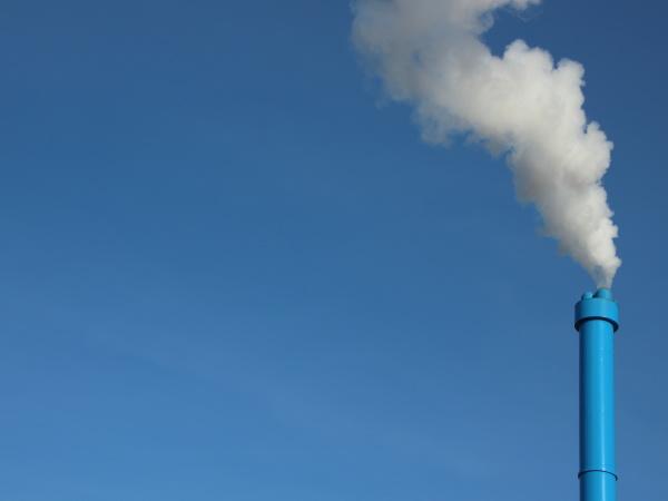 fumo blu pericolo industria industriale potenza