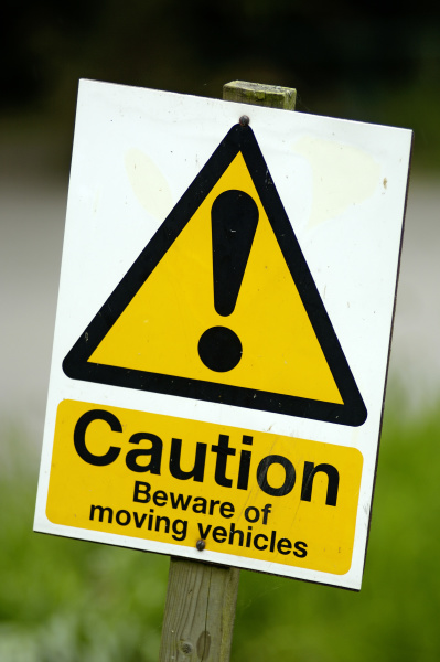 movimento in movimento veicoli cautela avvertenze