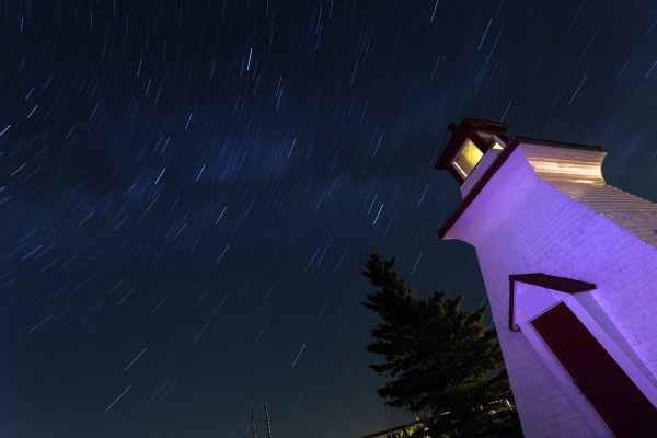 blu torre notte tramonto sera orizzontale