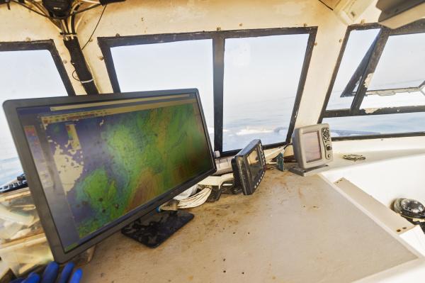 traffico finestra orizzontale peschereccio pesca direzione