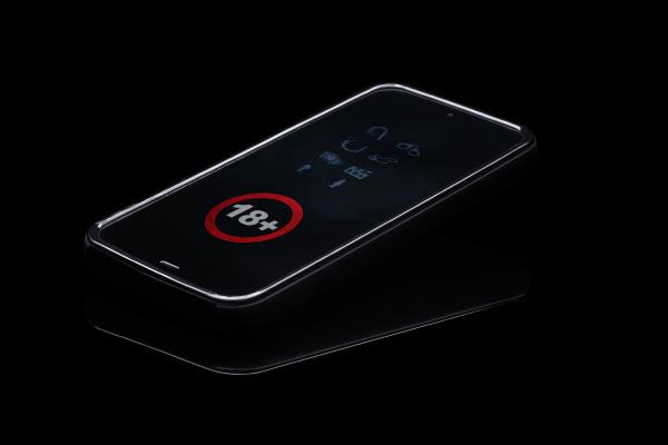 telefono cellulare oggetto rilasciato progettazione concetto
