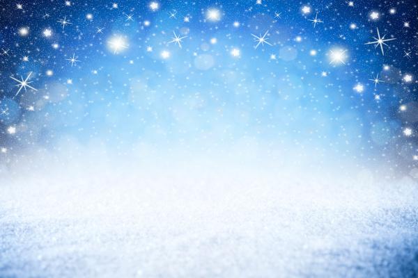 stelle vuote blu notte cielo invernale