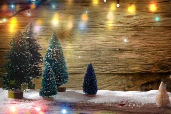 sfondo festivo natalizio