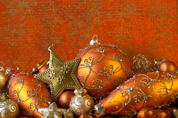 elegante, ornamento, natalizio, natura, morta - 27461500