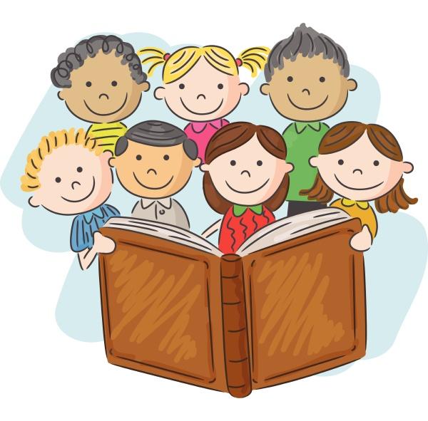 libro di lettura per bambini dei
