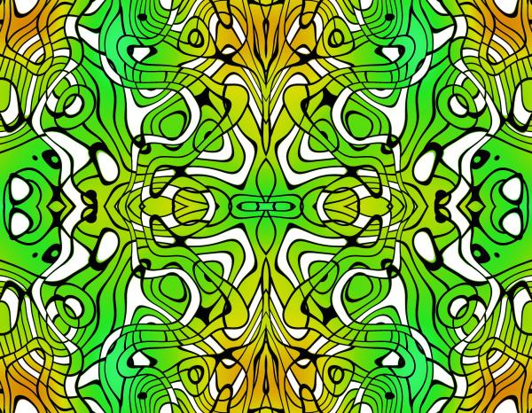 allover, ripetizione, pattern, tile, verde, giallo - 28215363