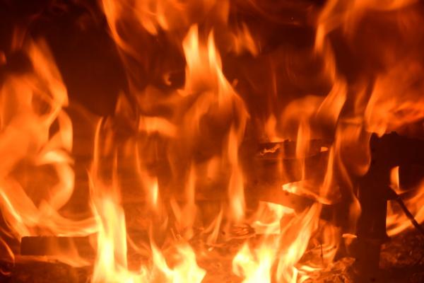 fuoco, nel, camino, caminetto, provincia, di - 28216458