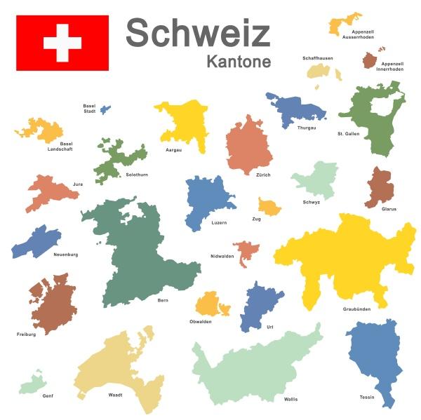paese svizzera colorata