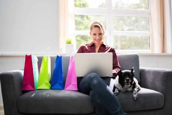 shopping online di e commerce sul