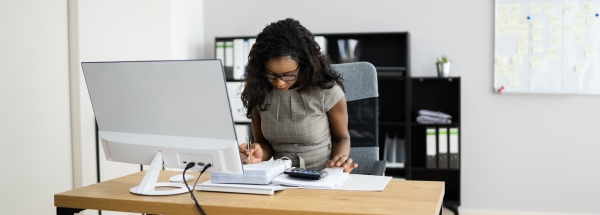 donna, consulente, contabile, afroamericana - 29422748