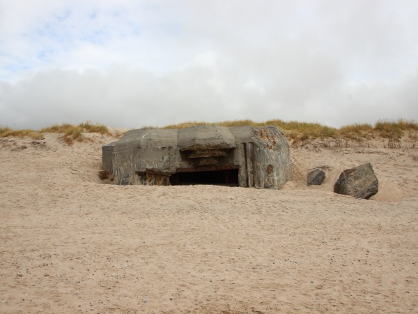 canon hole bunker sulla costa della