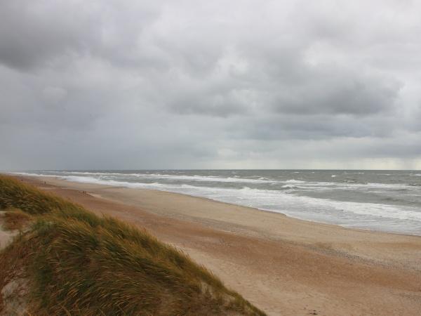 tempo, nuvoloso, con, horizon, coast, of - 29745617