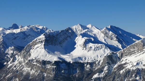 alte, montagne, nella, svizzera, centrale, vista, da - 29777384