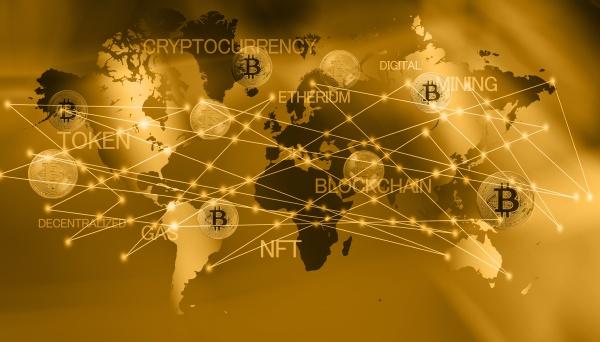 mappa del mondo con bitcoin cgi