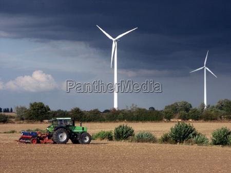 impianto di energia eolica