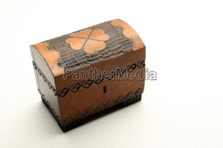 opzionale marrone scatola cassone cofano scrigno