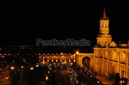 arequipa at night