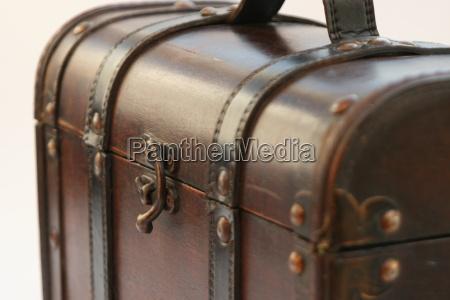 storico pelle vecchio chiuso metallo serratura