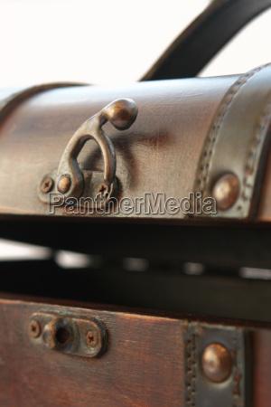 segreto storico pelle vecchio chiuso metallo