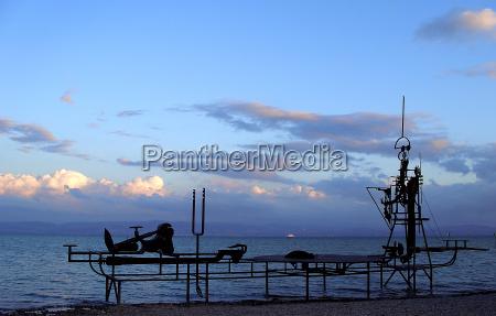 blu arte riva del mare spiaggia
