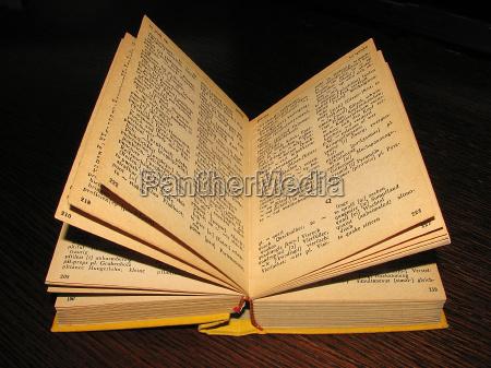 antico lettere parole imparare apprendere pagine