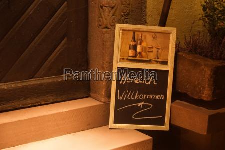 ristorante fotografia notturna romantico osteria taverna