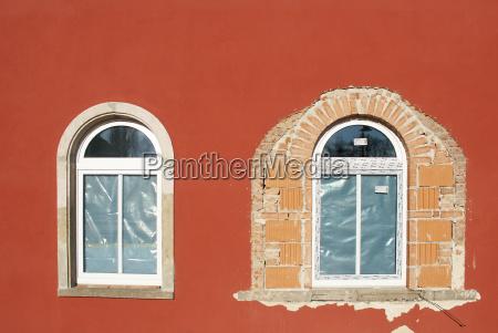 colore finestra nuovo rovina rudere arenaria