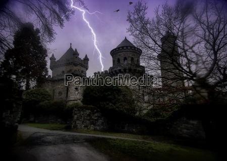 notte sera tetro buio tempesta temporale