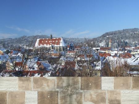 schwabisch gmund inverno panorama