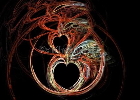 frattale cuore 3