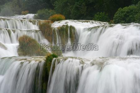 parco nazionale cascata filtro croazia cascate