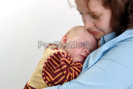 donna blu salute nascita faccia ritratto