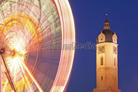 blu chiesa notte fotografia notturna ora