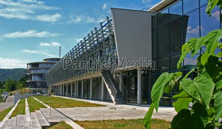 facciata citta universitaria campus istituto jena