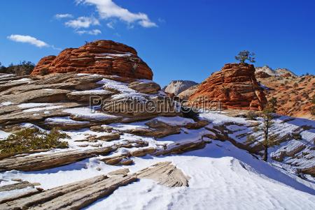 luce inverno parco nazionale stati uniti