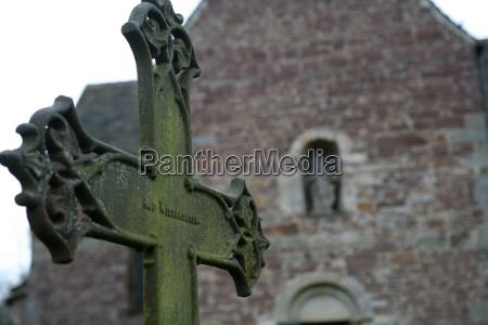 storico chiesa ricordare croce cimitero germania